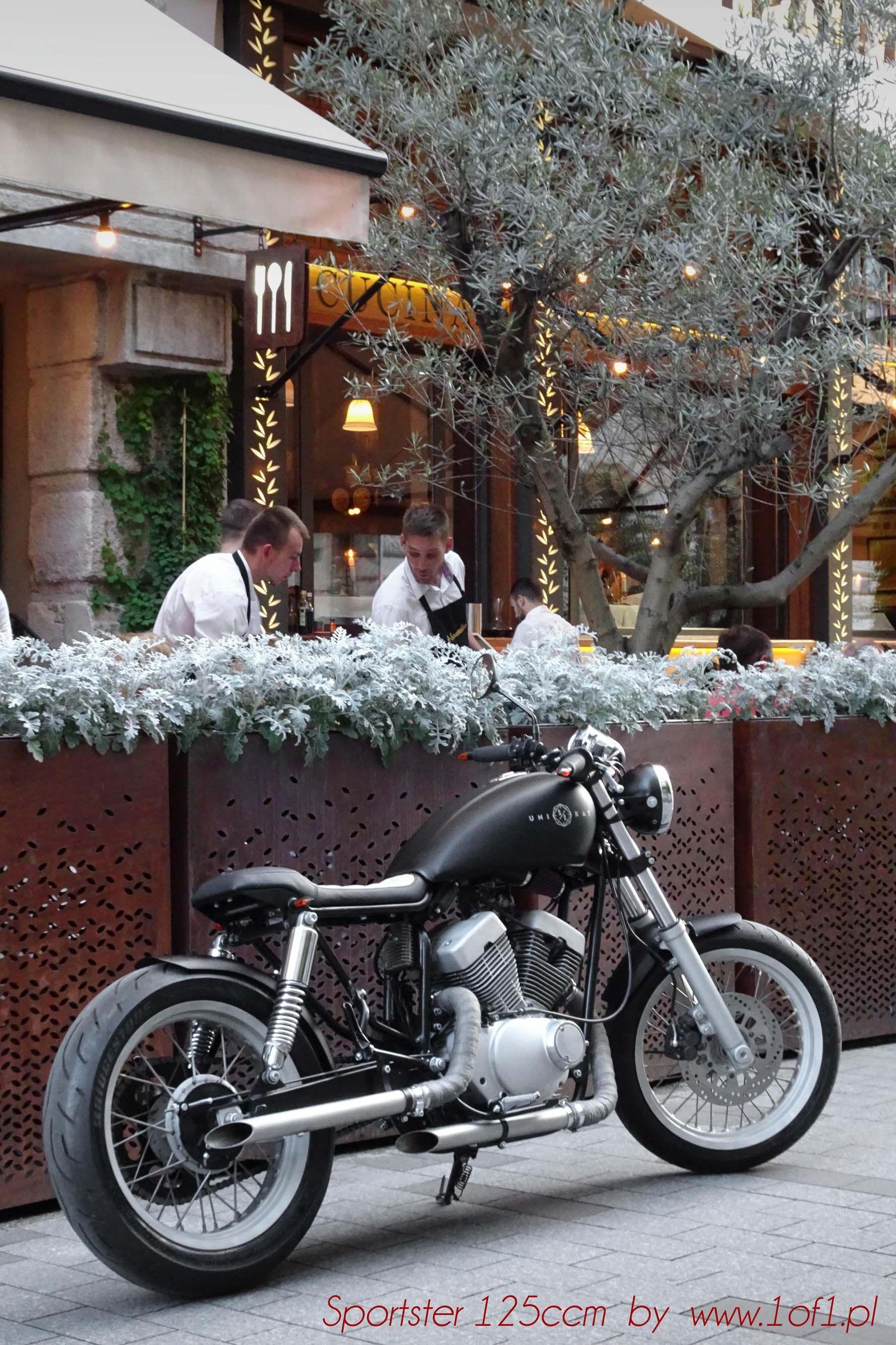 125ccm cafe racer motorrad bild idee. Black Bedroom Furniture Sets. Home Design Ideas