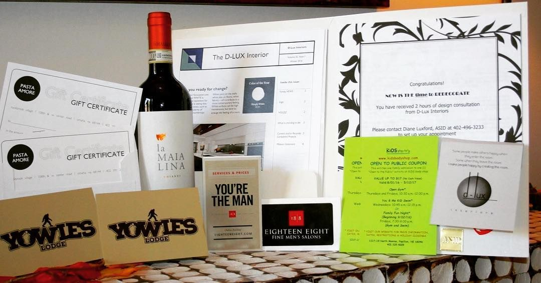 3 DAYS AWAY!!! More Incredible items donated for the silent auction at our 1st Annual Gala! BIG Thank you to Yowie's Lodge D-Lux Interiors Pasta Amore 18/8 Fine Men's Salons - Lakeside Hills and Kid's Body Shop for these great items! Please join us for this night to remember. To purchse tickets http://buytickets.at/chariots4hope1/60718 or visit our website www.chariots4hope.org.#chariots4hope #getyourticketstoday #gala #thankful https://www.instagram.com/p/BLqy-D-g35D/ via…