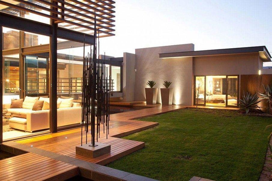 Modern Courtyard Design Modern Garden Design Inspiration