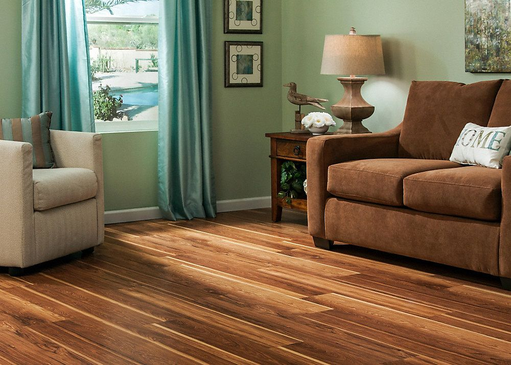 10mm+pad Hot Springs Hickory Laminate Dream Home
