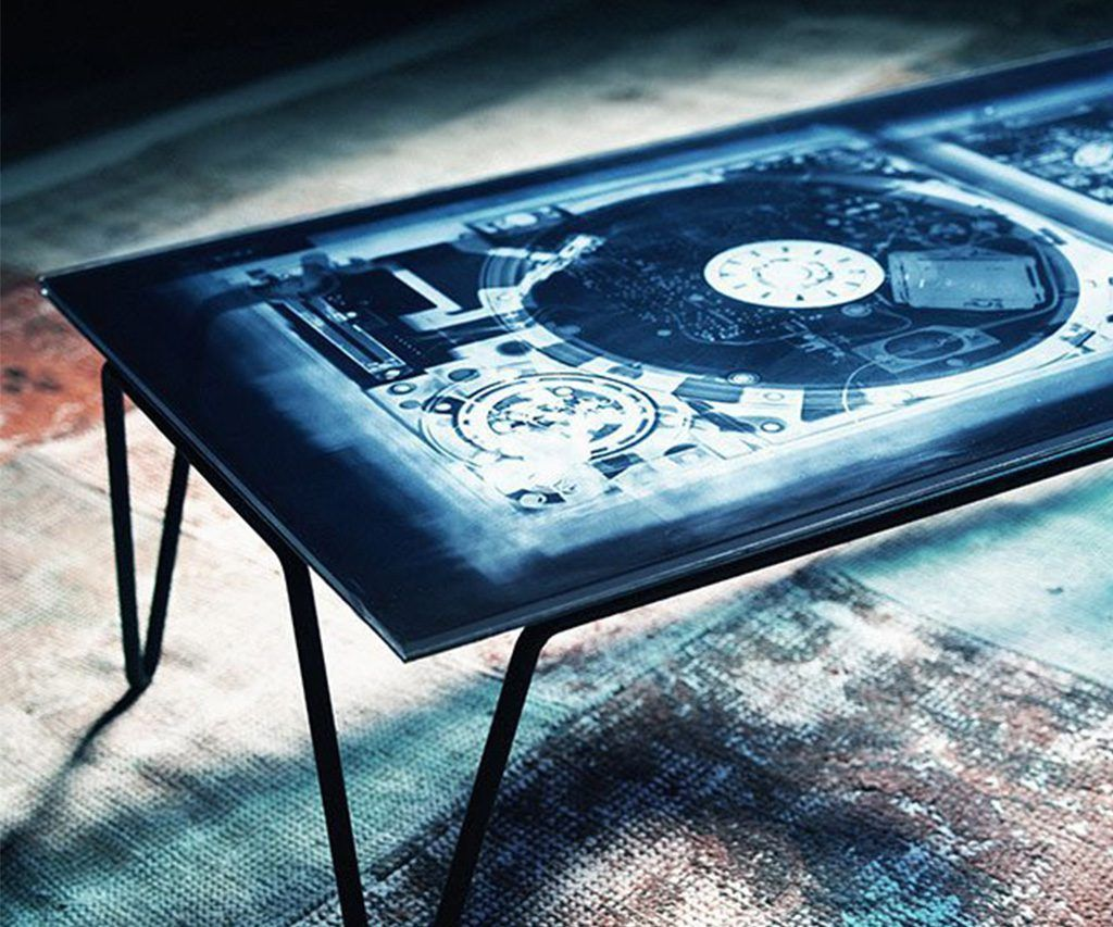 Diesel With Moroso Xraydio 2 Disc Coffee Table Cool Tables Dj