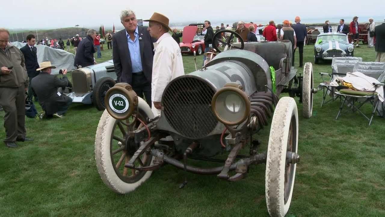 1911 Franklin Model D Race Car - Pebble Beach 2012: Jay Leno's Garage (+...