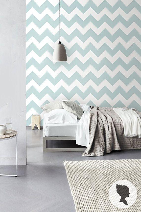 Pin di chicca frigeri su fresh new bedroom nel 2019 for Carta da parete per camera da letto