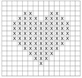 Photo of Cute cross-stitch heart.,  #crossstitch #Cute #Heart – #crossstitch #cute