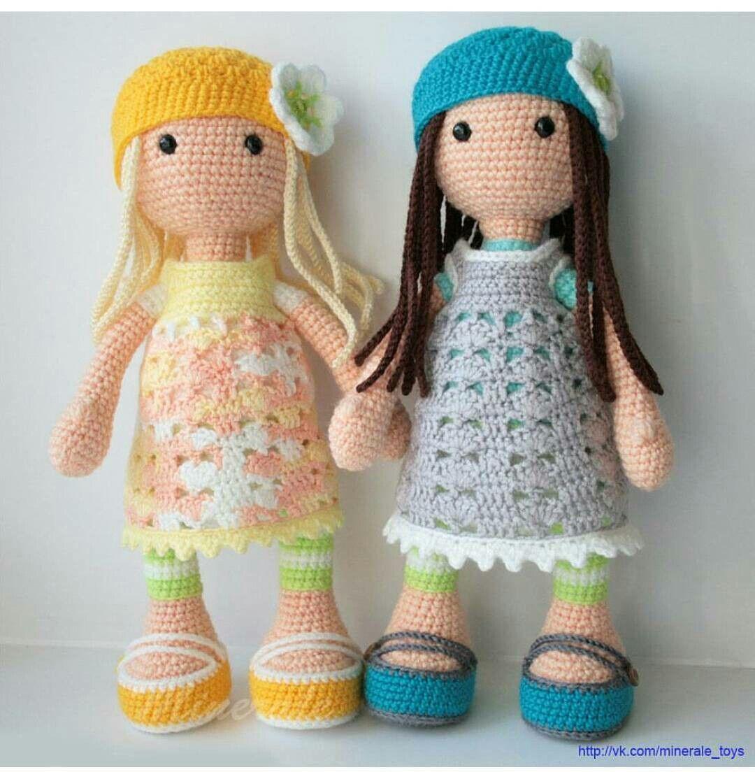 Pin de jazzi crafts en ♡ Crochet Dolls 1 ♡   Pinterest   Muñecas ...