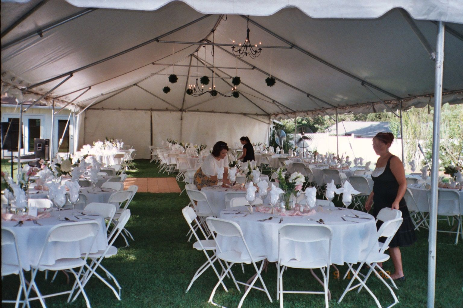 Outdoor Tent Decorating Ideas Basic Tent Setup With