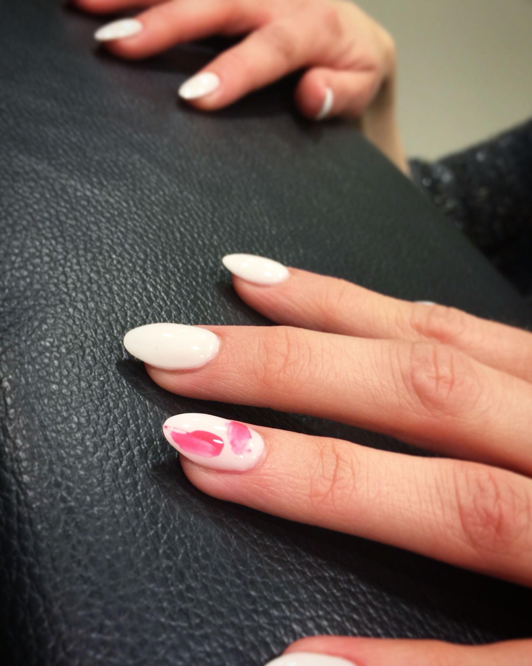 Abstracte nagels door Nail Vision - Nail Vision | Pinterest - Nagel ...