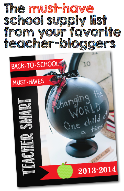 Teachers, make sure that you have everything you need to go back to school with this FREE resource from A Modern Teacher and Schoolgirl Style!