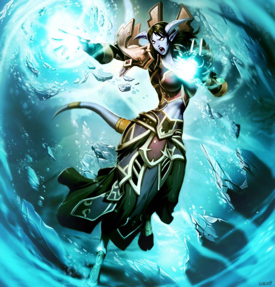 Warcraft - Loraala by *GENZOMAN on deviantART