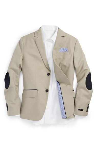 fcc31b373688 BOSS Kidswear Elbow Patch Sport Coat (Little Boys   Big Boys) available at   Nordstrom