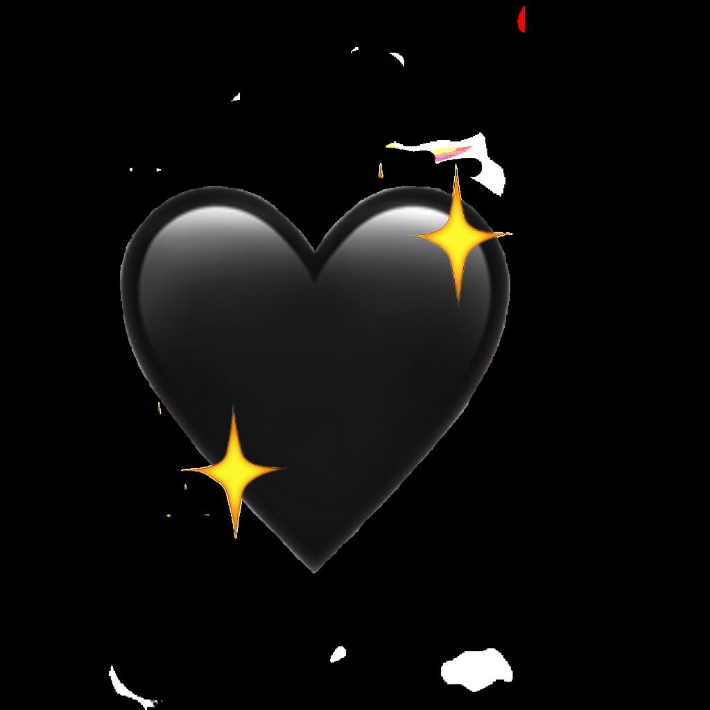 Picsart Photo Studio In 2021 Cute Emoji Wallpaper Black Heart Tattoos Watercolor Heart