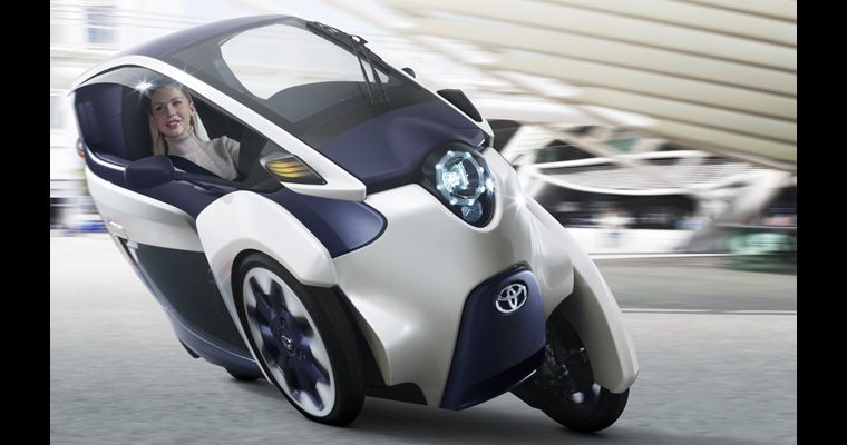 Not an EBike. Toyota iROAD Fully Enclosed Electric Trike