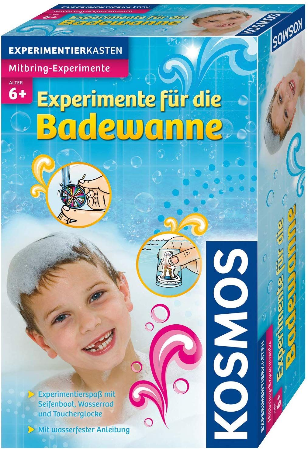 Kosmos 657130 Experimente Fur Die Badewanne Amazon De Spielzeug