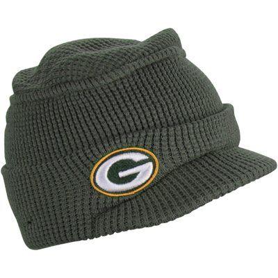 New Era Green Bay Packers Ladies Snow Sergeant Knit Hat Green Green Bay Packers Clothing Green Bay Packers Green Bay Packers Women
