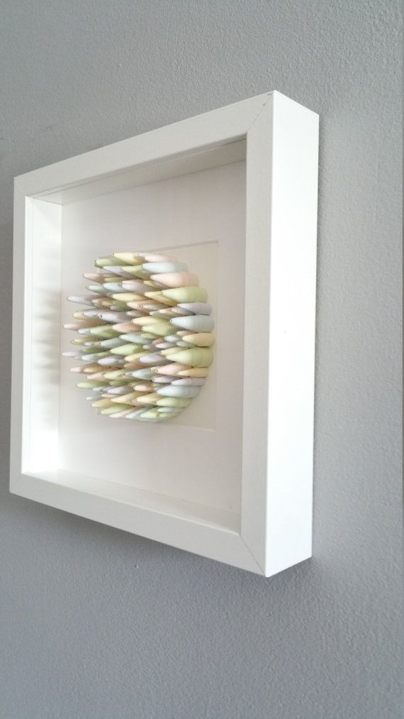Quilled Wall Art Framed Wall Art Paper Canvas Quilling Homedecor ...