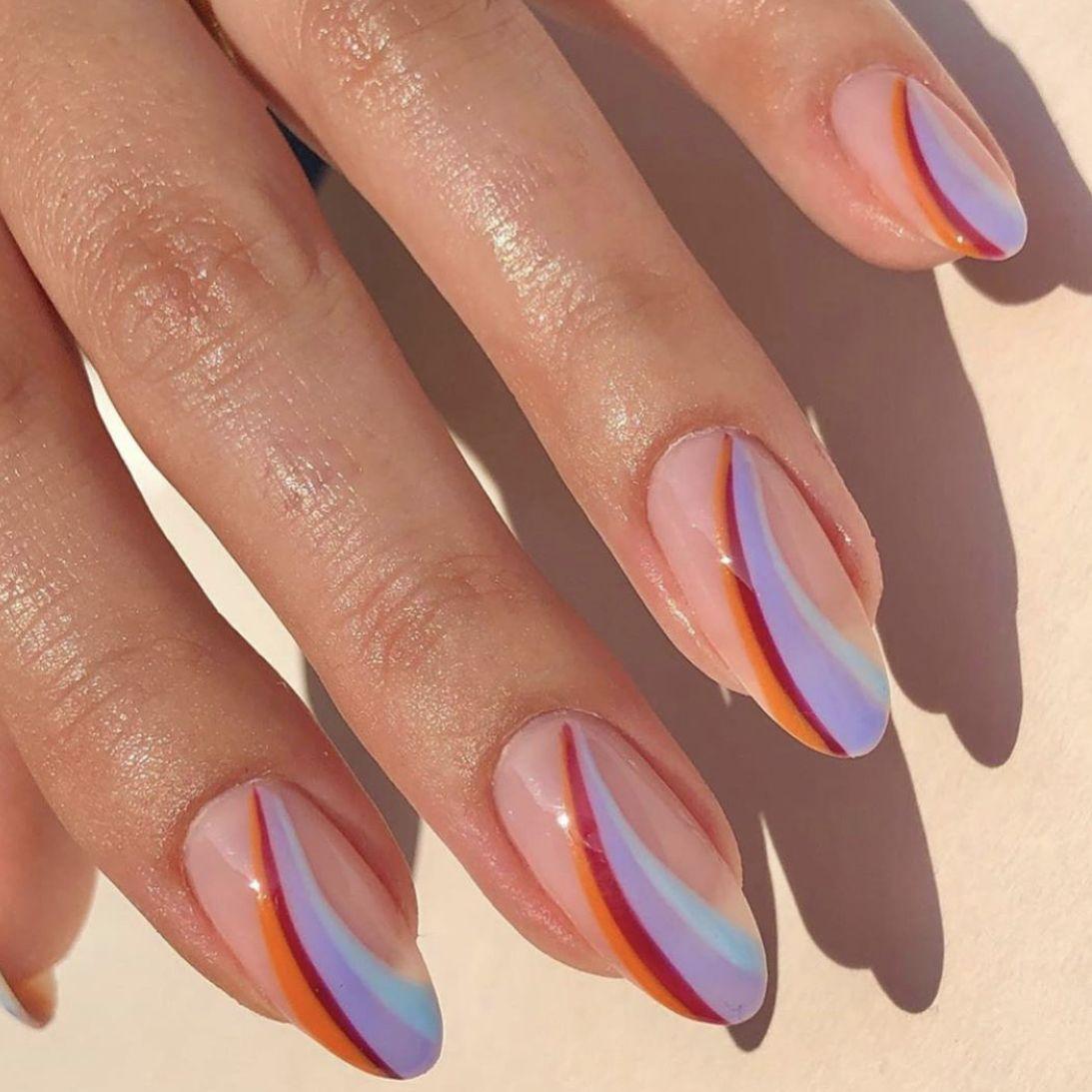 Pin by ᴊᴏssʏ ღ on manicure | Minimalist nails, Minimal