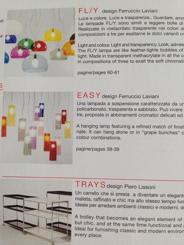 #dinfont from #kartell catalogue via @theremindesigns