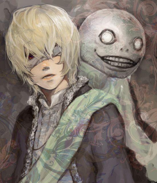 Nier Gestalt/Replicant - Emil aka No.7 | Anime, Character art, Nier automata