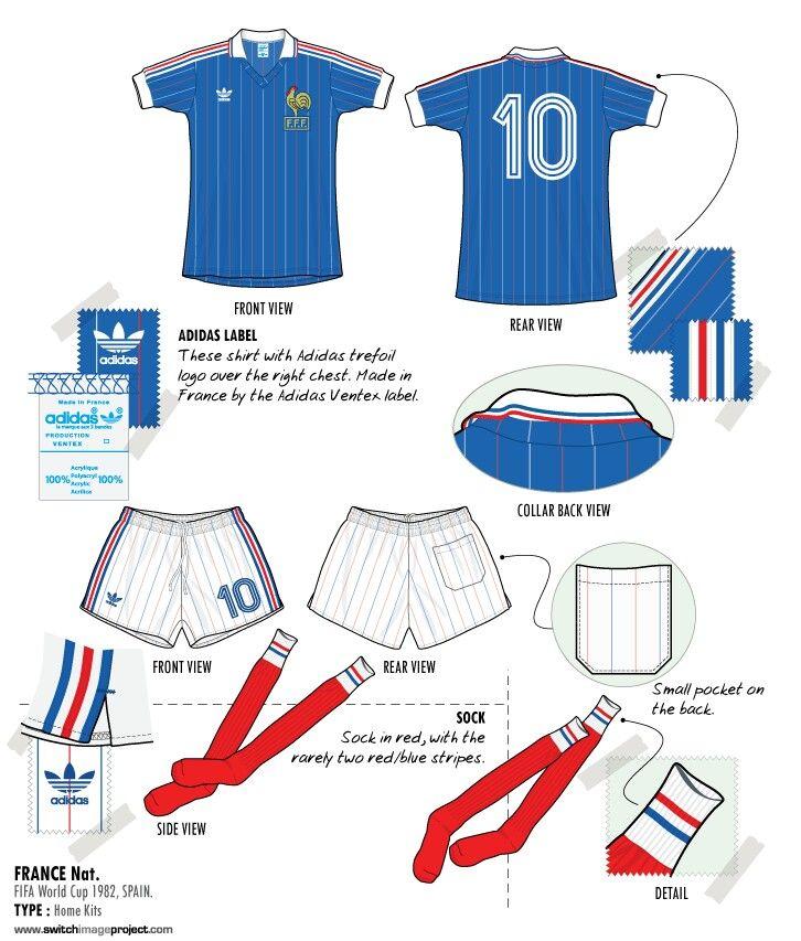 veste adidas equipe de france 1982