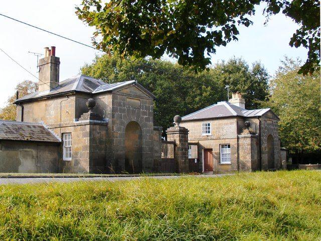 Kennel Lodge gatehouses, Petworth Park, West Sussex