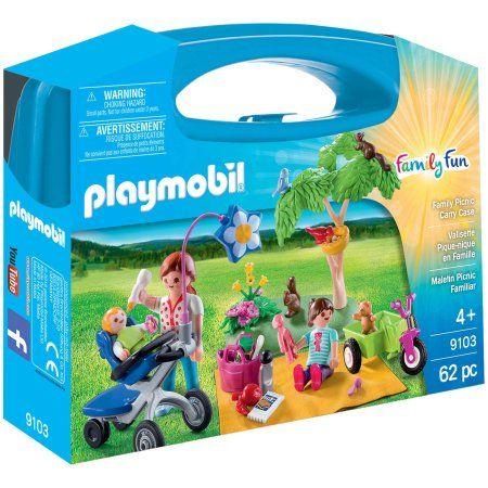 Playmobil Family Picnic Carry Case Walmart Com In 2021 Family Picnic Playmobil Family Fun
