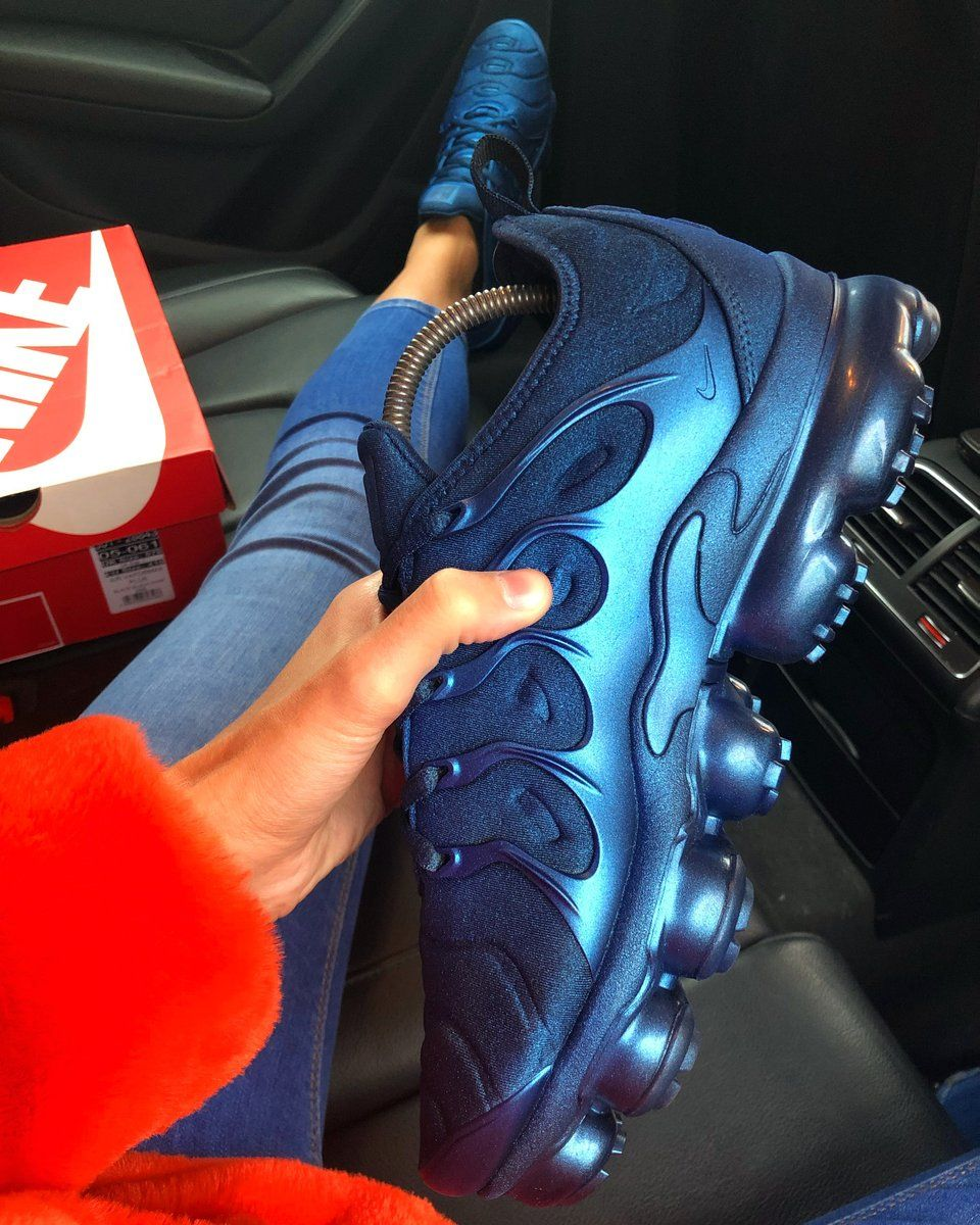 sports shoes 66b6a 8ad14 Pearl Blue Nike Vapormax Plus   KYLIE BOON