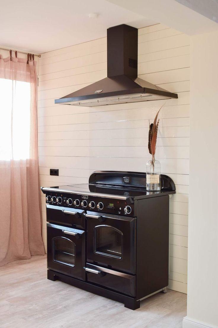 spritzschutz k che diy selber machen schutzfolie f r r ckwand herd falcon ranke cooker herd. Black Bedroom Furniture Sets. Home Design Ideas
