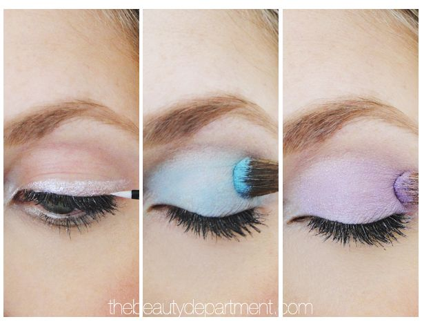 The sweetest way to transition from Spring into Summer is with a pastel eye from the S/S14 runways! We've served up three different styles in three different shades on a fair skin model so you can see that anyone can wear them! Click through to see the full face shots!