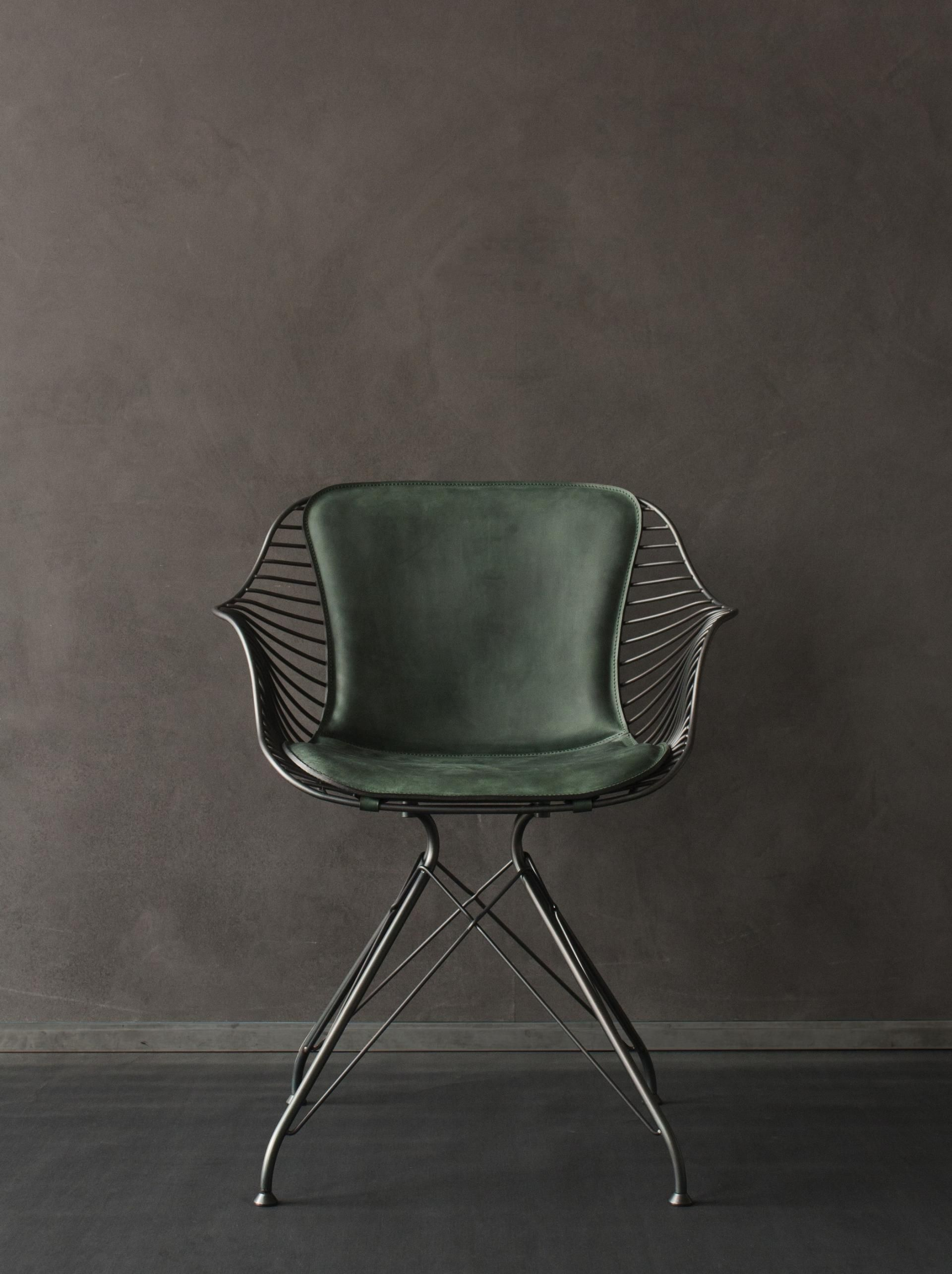 Wire Dining Chair   Wood...Metal...Glass...Colors...Materials ...