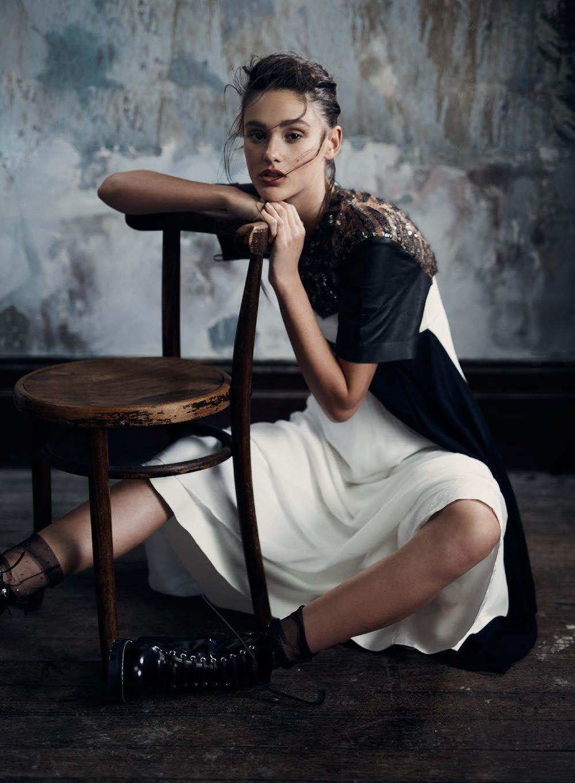 Aleyna Fitzgerald in Elle Australia December 2016 by Georges Antoni