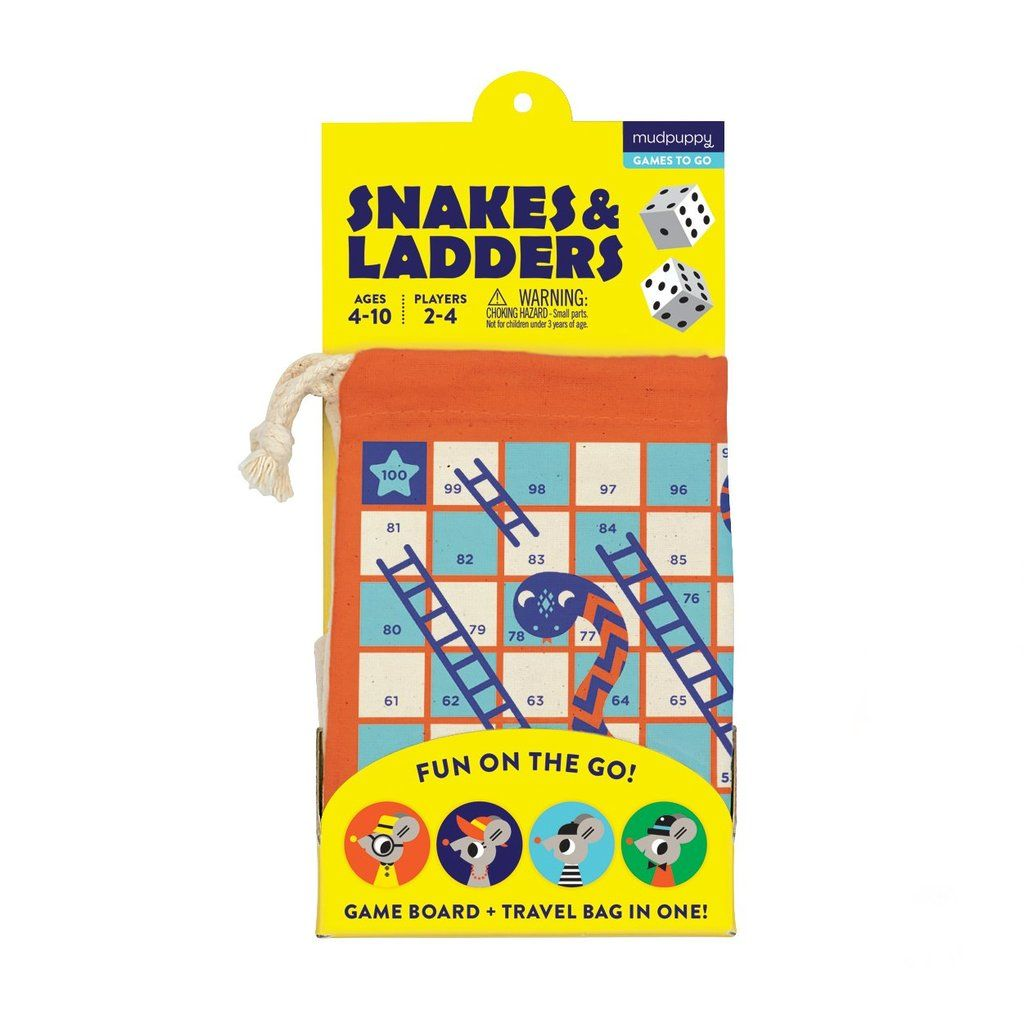 1da193641758 Snakes and Ladders Travel Game – Fox + Kit Children's Boutique #game  #kidsgame #travelgames #snakesandladders #roadtrip