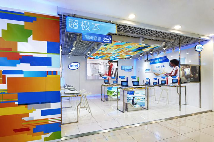 Intel Ultra Store in Beijing by Gramco | Other stores | Pinterest ...