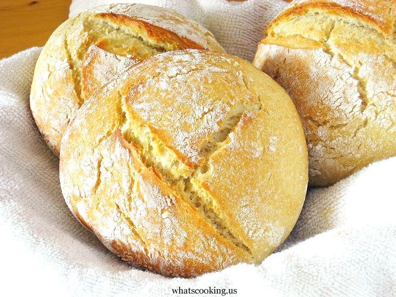Potato Bread, WhatsCookingMexico (potatoes, active dry