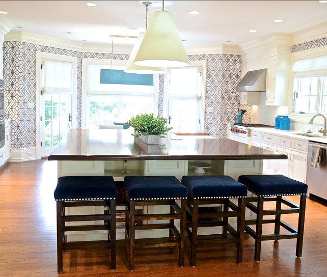 Stools kitchen decor Pinterest Kitchens, Interiors and Kitchen