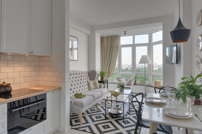 Detalii clasice și tonuri neutre într-un micuț apartament de două ...