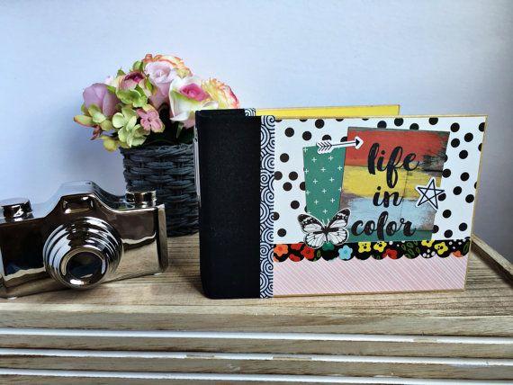 Premade Scrapbook Album Premade Mini Album By Scrapbookyourjoy