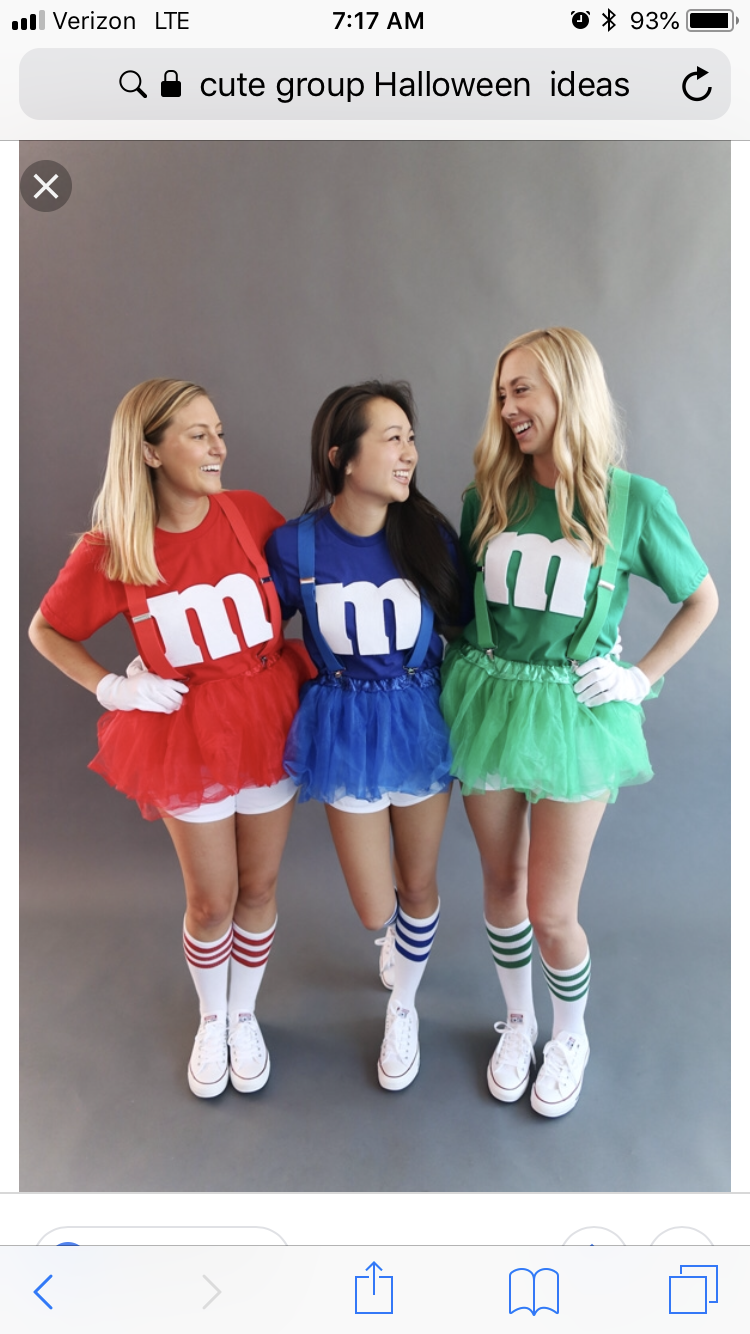 Perfect Triple Costume Idea For The 3 Bff S Im In Love With This Halloween Costumes Friends Best Friend Halloween Costumes Cute Halloween Costumes