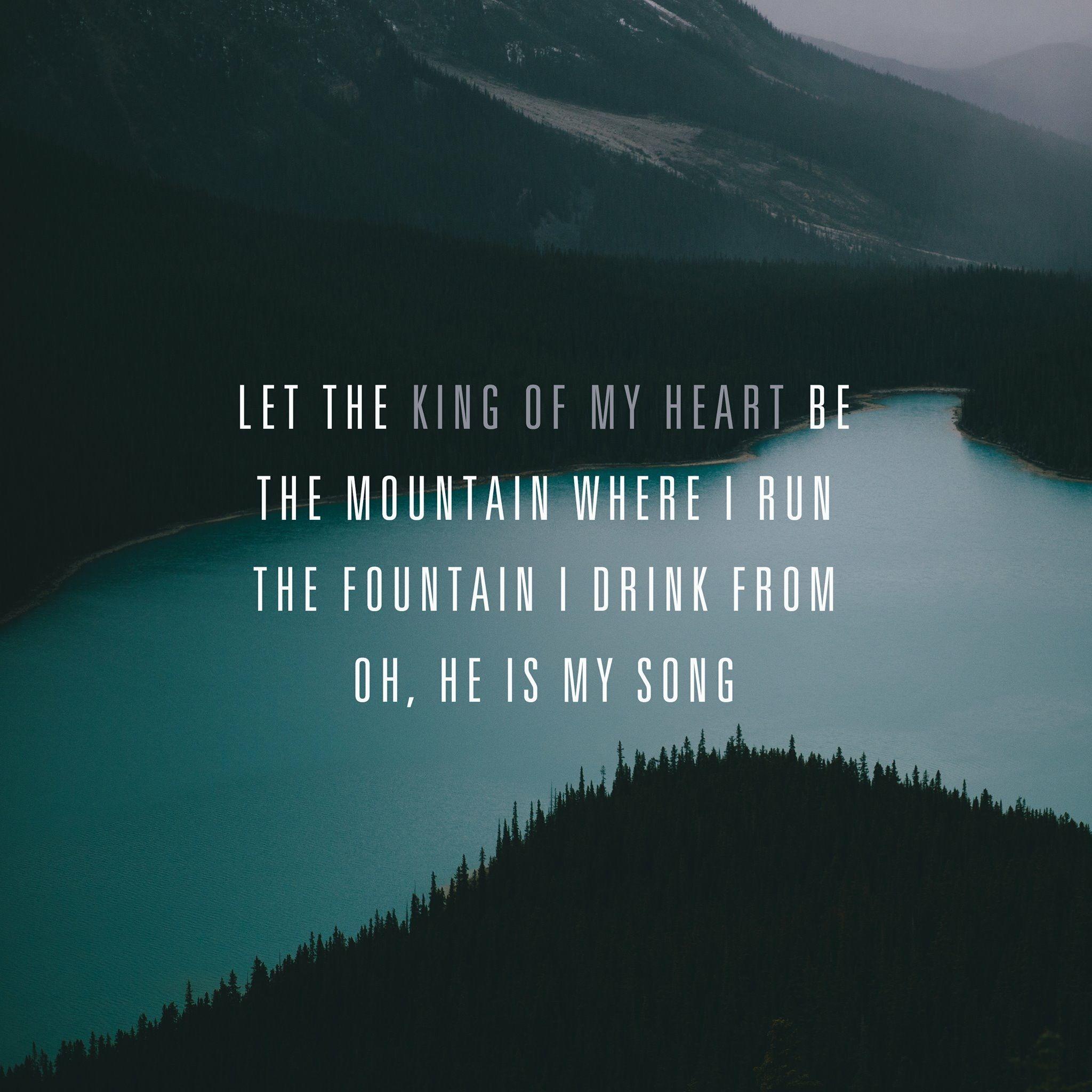 king of my heart ❤️ christian song lyrics worship lyrics
