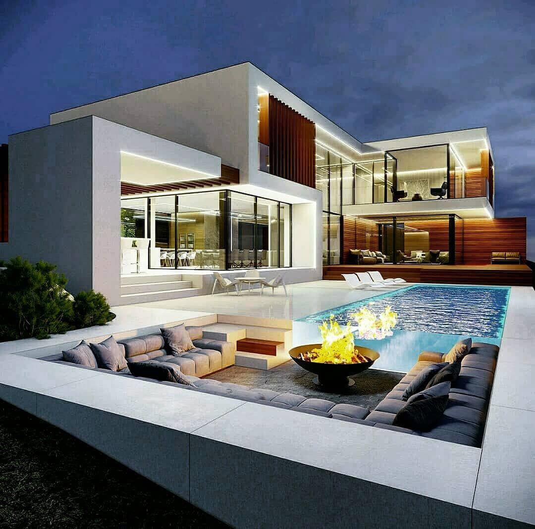 Hᴏᴜsᴇ Iɴsᴘɪʀᴀᴛɪᴏɴ On Instagram House Goals Rate It Follow My House Inspiration Modern House Exterior House Designs Exterior Dream House Exterior