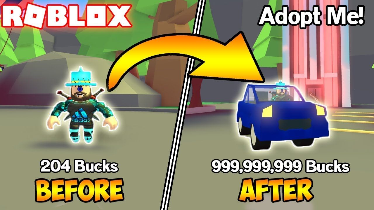 How To Get Loads Of Bucks Roblox Adopt Me Adoption - how to get a car on roblox adopt me