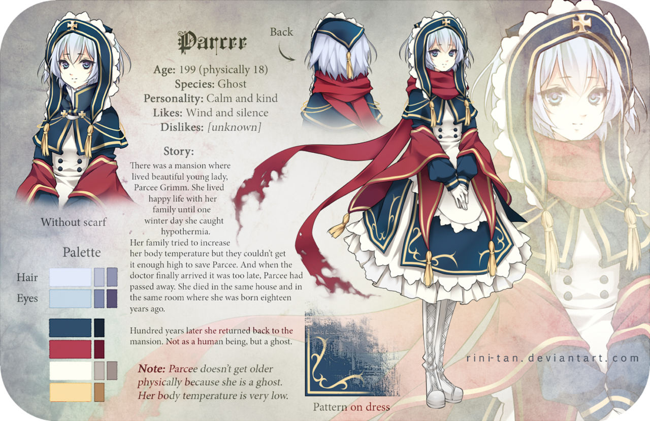 Anime Character Design Deviantart : Parcee reference by rini tan character design pinterest
