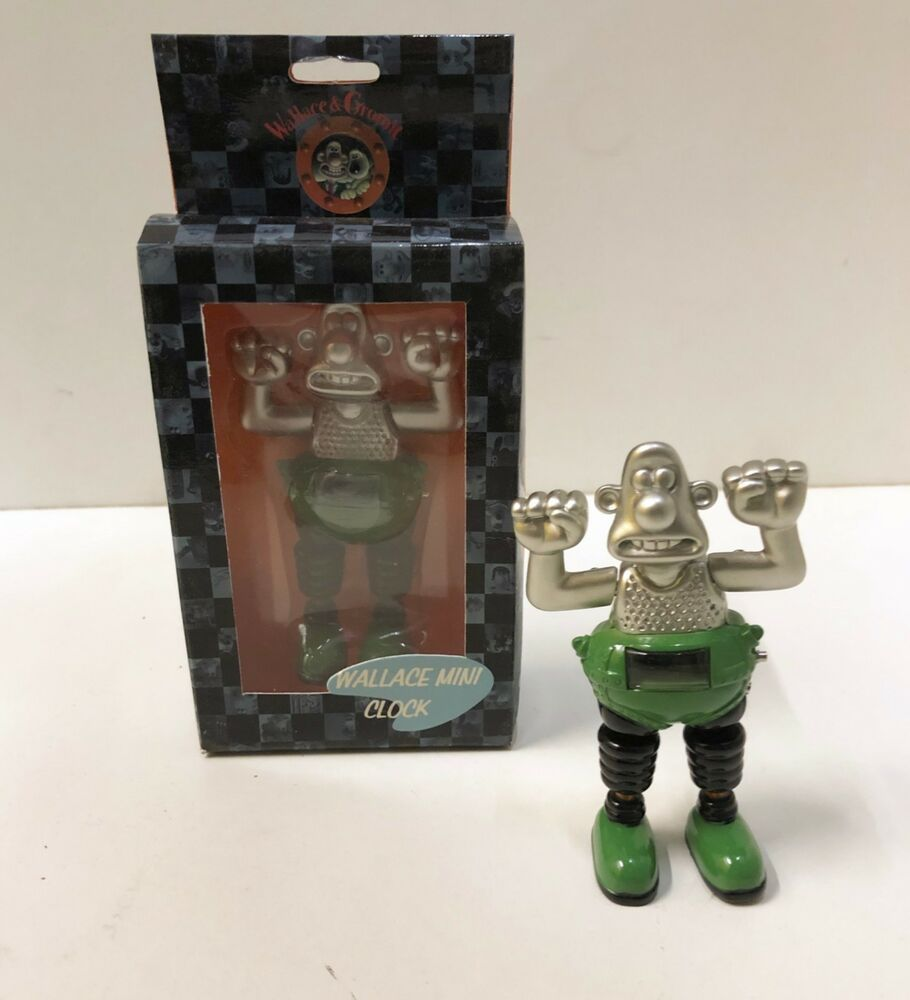 Wallace Gromit Metal Digital Clock Wallace In Wrong