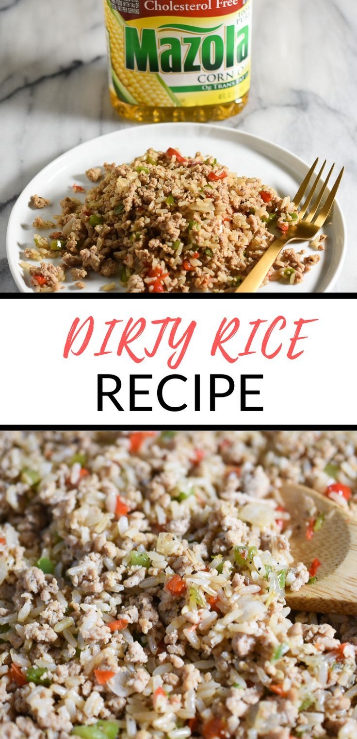 Dirty Rice (With Ground Turkey) | Domestic Dee