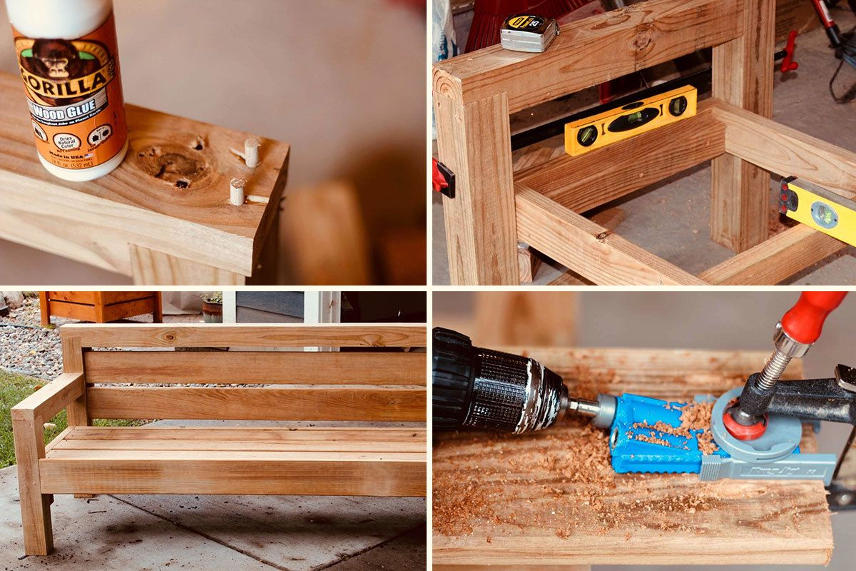 How To Build An Outdoor Sofa Woodworking Table Plans
