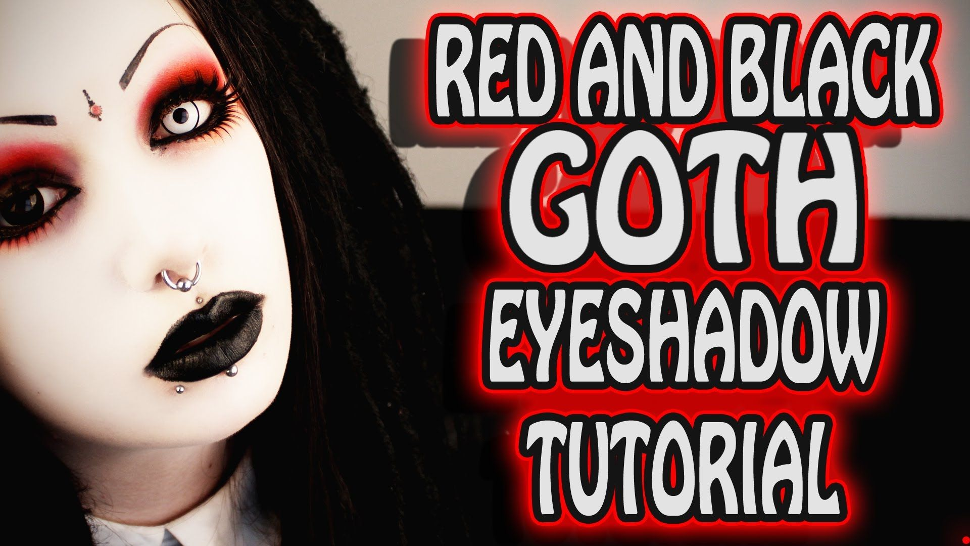 Awesome marilyn manson makeup eyelashes and contact lenses video awesome marilyn manson makeup eyelashes and contact lenses video tutorial by toxic tears baditri Choice Image
