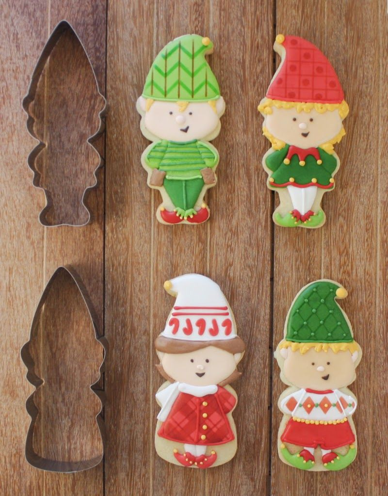 Christmas Elf Cookie Cutter And Stencil Sets Klickitat Street