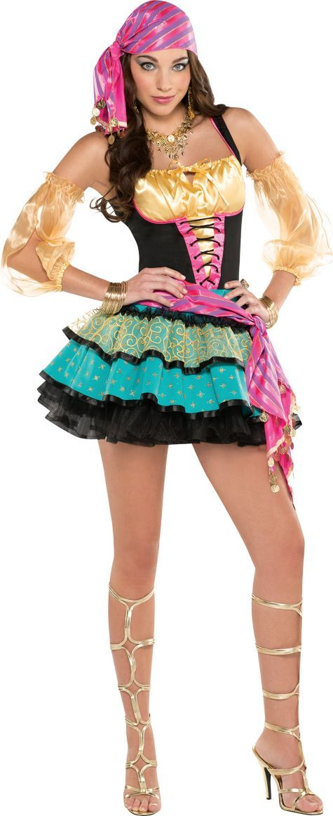 adult mystical gypsy costume party city