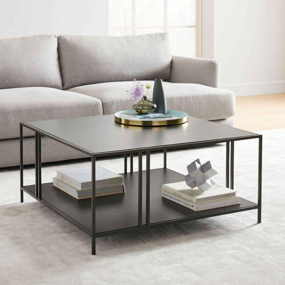 Profile Square Coffee Table west elm Canada Furniture