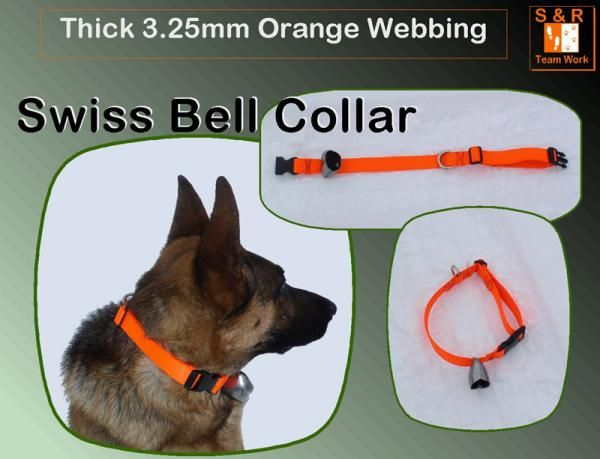 Swiss Bell Dog Collar Dog Vests Working Dogs