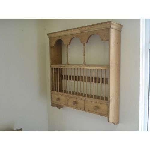 Fancy Country Pine Wall Plate Rack  sc 1 st  Pinterest & Fancy Country Pine Wall Plate Rack | Идеи для дома | Pinterest ...